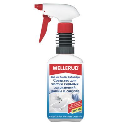 Mellerud Средство для чистки сильных загрязнений ванны и санузла. 500 мл.