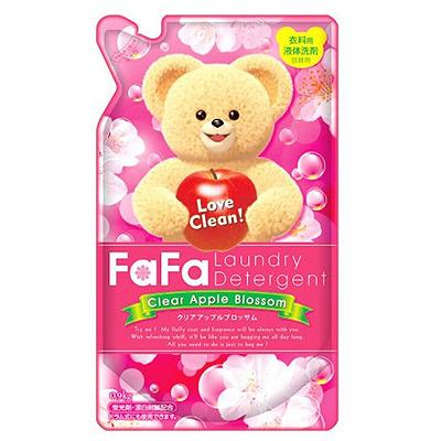 "Nissan ""Fa-Fa"" Apple Blossom : Жидкое средство для стирки детского белья ""FaFa"", аромат яблока, 0,9 л."