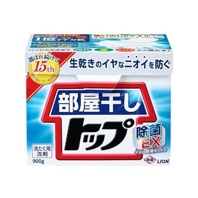 Lion Top For Rooms : Универсальный концентрированный стиральный порошок для сушки белья в помещении. 0,9 кг.