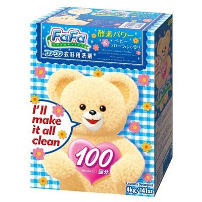 Nissan Fa-Fa : Универсальный гипоаллергенный стиральный порошок для стирки детской и взрослой одежды. 4 кг.