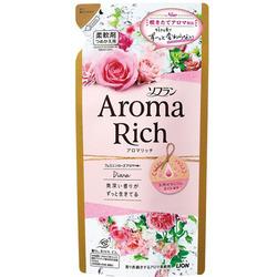 Lion Aroma Rich Diana : Кондиционер для белья c натуральными маслами английской розы, 430 мл.