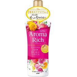 Lion Aroma Rich Scarlett : Кондиционер для белья c натуральными ароматическими маслами, 600 мл.
