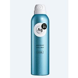 Shiseido Ag+ Cool : Дезодорант-спрей для тела с ионами серебра. С легким охлаждающим эффектом. 142 гр.