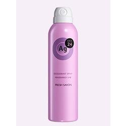 Shiseido Ag+ Fresh Savon : Дезодорант-спрей для тела с ионами серебра. С ароматом мыла и свежести. 40 гр. или 142 гр.