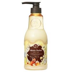 Cosme Company Ahalo Butter Body Soap HM : Жидкое мыло для тела с тропическими маслами, медом и молоком, с ароматом меда и ванили, 500 мл.