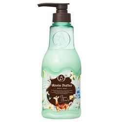 Cosme Company Ahalo Butter Body Soap CF : Жидкое мыло для тела с тропическими маслами и цветочными экстрактами, с ароматом цветов и свежести, 500 мл.