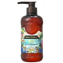 Cosme Company Ahalo Butter Hawaiian Organic Rich Gloss & Damage Repair : Шампунь растительный для объема, восстановления и шикарного блеска волос (без сульфатов и силикона) 500 мл.