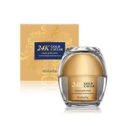 Elisha Coy 24k Gold Caviar Cream : Крем с экстрактом икры и частицами 24к золота, 50 гр.