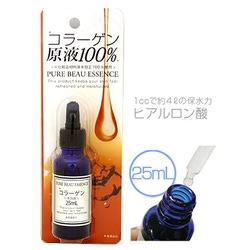 Japan Gals Pure Beau Essence Collagen : Сыворотка для лица. 100 % Коллаген. 25 мл.