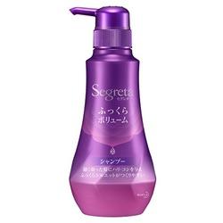 Kao «Segreta Volume Aromatic Floral shampoo» : Шампунь для увеличения прикорневого объёма волос, с экстрактом граната и маточным молочком, 360 мл.