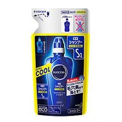 Kao Success S2 Extra Cool : Мужской шампунь с охлаждающим эффектом против перхоти и зуда кожи головы. 300 мл.