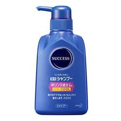 Kao Success Extra Cool S4 : Шампунь-кондиционер с охлаждающим эффектом, для мужчин, от перхоти и зуда кожи головы. Нормализует работу сальных желез. 350 мл.