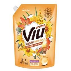 Mukunghwa Aroma Viu : Антибактериальный кондиционер для белья, ароматизирующий, золотая мимоза, 2,1 л.