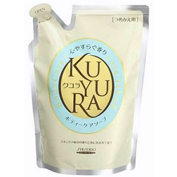 Shiseido Kuyura : Увлажняющее жидкое крем-мыло для тела с ароматом трав, 400 мл.