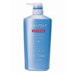 Shiseido Moist Hair Pack Daily Treatment : Защищающий от неблагоприятных факторов кондиционер-уход для поврежденных волос c цветочным ароматом. 600 мл.