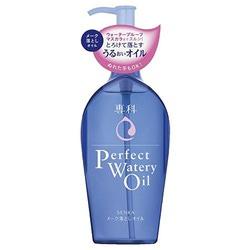 Shiseido Perfect Watery Oil : Гидрофильное масло для снятия макияжа с гиалуроновой кислотой и протеинами шелка, 230 мл.