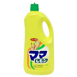 Lion Mama Lemon : Моющее средство с ароматным запахом лимона для посуды, овощей и фруктов. 1250 мл.