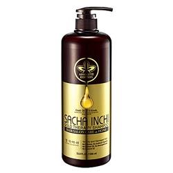 Doori Cosmetics Daeng Gi Meo Ri Sacha Inchi Gold Therapy Shampoo : Голд Терапи шампунь, для сильно поврежденных, сухих и ослабленных волос. 1000 мл.