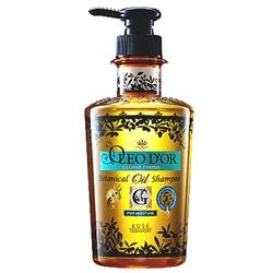 """Kose Cosmeport """"Oleo D'or"""" : Шампунь для повреждённых волос, для сухих, ломких волос """"Блеск и увлажнение - 5 масел"""". 500 мл."""