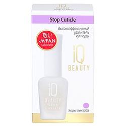 IQ Beauty Stop Cuticle : Высокоэффективный удалитель кутикулы, 12,5 мл.