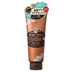 Cosme Company Angel Recipe Premium Hair Mask : Премиальная восстанавливающая маска для волос без сульфатов, 220 гр.