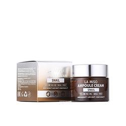 La Miso Snail Ampoule Cream : Ампульный крем с экстрактом слизи улитки, 50 гр.