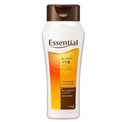 Kao Essential : Восстанавливающий и увлажняющий шампунь для поврежденных волос с цветочным ароматом, 200 мл.