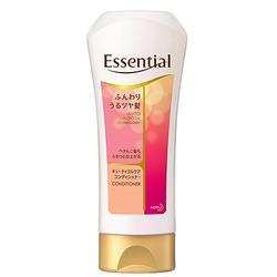 Kao Essential : Увлажняющий и разглаживающий кондиционер для ослабленных волос, с цветочным ароматом, 200 мл.