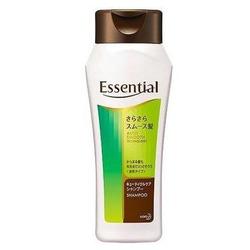 Kao Essential : Разглаживающий и укрепляющий шампунь для волос с цветочным ароматом, 200 мл.