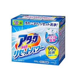 """Kao New : Антибактериальный cтиральный порошок для белого и цветного белья """"Attack All In"""", 900 гр."""