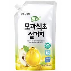"""CJ Lion Chamgreen : """"Айва"""": Cредство для мытья посуды, овощей и фруктов с экстрактом айвы. С фруктовым ароматом. 860 мл."""