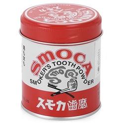 Smoca Pink : Зубной порошок для курящих со вкусом мяты и зимней зелени, 150 гр.