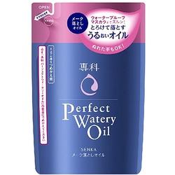 Shiseido Perfect Watery Oil : Гидрофильное масло для снятия макияжа с гиалуроновой кислотой и протеинами шелка, 180 мл.