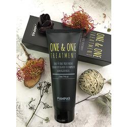 Pampas One & One Treatment : Тритмент Пампас. Процедура глубокого восстановления волос. 220 мл.