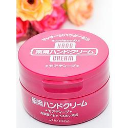 Shiseido Medicated Hand Cream : Лечебный и питательный крем для рук с ксилитолом и мочевиной. 100 гр.