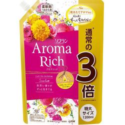Lion Aroma Rich Scarlett : Кондиционер для белья c натуральными ароматическими маслами, 1210 мл.