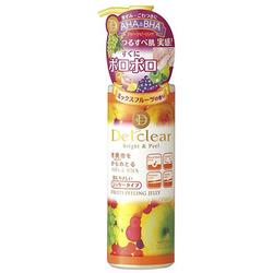 Meishoku AHA&BHA Peeling Gel : Пилинг гель с фруктовыми кислотами, с эффектом сильного скатывания. С ароматом фруктов. 180 мл.