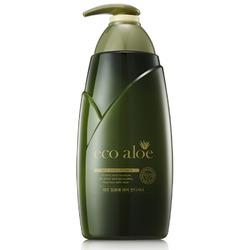 Rosee Eco Aloe : Kондиционер для волос с экстрактом алоэ и зеленым чаем. 760 мл.