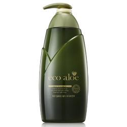 Rosee Eco Aloe Treatment : Питательная маска для волос с экстрактом алоэ и зеленым чаем. 760 мл.