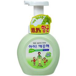CJ Lion Ai Kekute : Мыло пенное для рук с антибактериальным эффектом, с ароматом винограда, 250 мл.