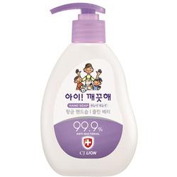 CJ Lion Ai Kekute : Жидкое мыло для рук Сочная ягода, с антибактериальным эффектом, 250 мл.