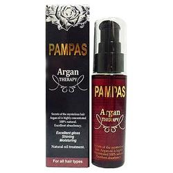 Pampas Argan Therapy : Масло арганы Пампас. Для восстановления проблемных волос. 40 мл.
