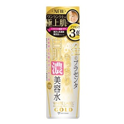 Miccosmo White Label Premium Placenta Gold Rich Essence Lotion : Концентрированный, увлажняющий и подтягивающий лосьон-сыворотка с экстрактом плаценты, 180 мл.