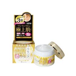 Miccosmo White Label Premium Placenta Gold Rich Cream : Концентрированный, увлажняющий и подтягивающий крем-гель с экстрактом плаценты, 60 гр.
