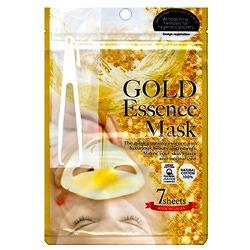 Japan Gals Japan Gals Gold Essence Mask : Маска для лица питательная с экстрактом золота. 7 шт. уп.
