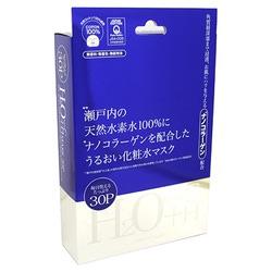Japan Gals Japan Gals H+Nano C Mask : Маска для лица с термальной водой и наноколлагеном. Комплект. 30 шт.