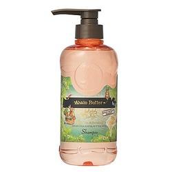 Cosme Company Ahalo Butter Shampoo Premium Scalp : Шампунь восстанавливающий с компонентами для ухода за кожей головы. 500 мл.
