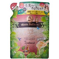 Cosme Company Ahalo Butter Treatment Premium Scalp : Бальзам-ополаскиватель восстанавливающий с компонентами для ухода за кожей головы. 400 мл.