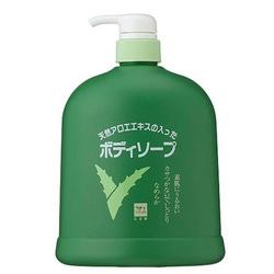 Cow Brand Aloe Body Soap : Жидкое мыло для тела с экстрактом алоэ. 1200 мл.