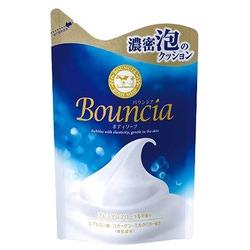 Cow Brand Milky Body Soap Bouncia : Увлажняющее мыло для тела со сливками и коллагеном. С освежающим изысканным цветочным ароматом. 430 мл.